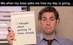 Morning Funny Picture Dump 30 Pics - ~ F ~ - Humor Hate My Job, Hate Work, Job Humor, Nurse Humor, Ecards Humor, Funny Memes About Work, Funny Work, Funny Stuff, Hilarious Work Memes