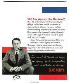 Will Any Agency Hire This Man? #DavidOgilvy