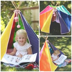 Crochet Teepee Pattern - this is SO adorable! I'm pinning this to make for sure.