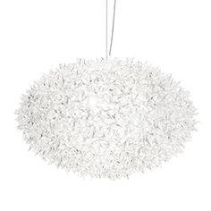 KARTELL Bloom ellipse pendel Crystal