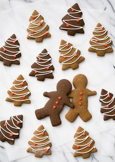 """So perfect for the holiday season! // """"Classic Gigngerbread Cut Out Cookies"""" 