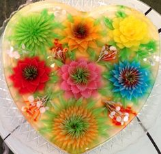 A new art form that is both beautiful and YUMMY!!!  Check out Art De Gelatin!