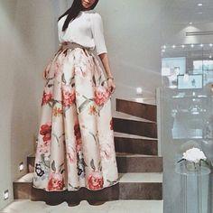 Sotra Flower skirt (sotraonline.com)