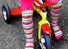 Teach kids to love their bikes.