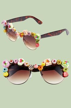 Gasoline Glamour 'Coco' 60mm Sunglasses available at #Nordstrom