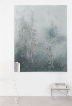 Decoración serena, minimalista y muy elegante