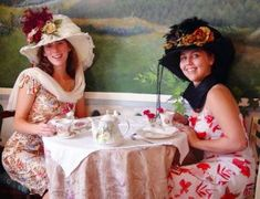 b5f0661e 34 Best English Tea Party Hats images | Red hat ladies, Red purple ...