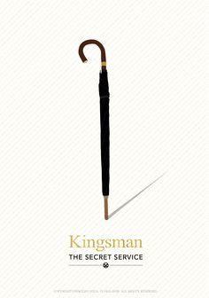 kingsman minimal poster