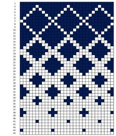 Option f r gekachelte Steppdecke - Stricken - f r gekachelte Option Step Knitting Charts, Knitting Stitches, Knitting Patterns, Knitting Machine, Free Knitting, Beginner Knitting, Sock Knitting, Vintage Knitting, Tapestry Crochet Patterns