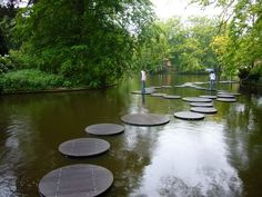 Amsterdam Flower Gardens Pond