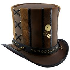 Steampunk Top Hat-Cute, not wild about the pointless gears on the front, but has potential.