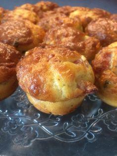 Mini Muffins, Servent, Baked Potato, Brunch, Baking, Breakfast, Ethnic Recipes, Food, Savory Muffins