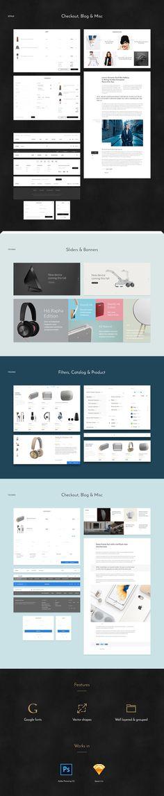 Store UI Kit on Behance