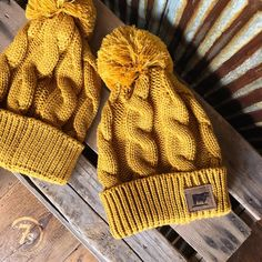 So this cold front thing happened again! For all of you freezing your tail off we want to do a little GIVEAWAY! Tell us your location temp and how much snow you have on the ground! We will pick one Lucky Winner Tonight to Receive our {new} Mesa Beanie!!! And go! #brrrr #snowydays #mustard #beanielove #savannah7s #giveaway