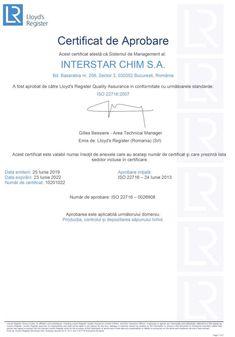 dezinfectant maini certificat conformité – Căutare Google Google, Cots, Chemistry, Certificate