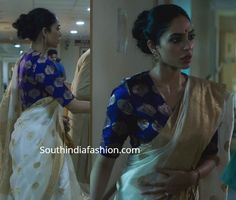 made in heaven sobhita dhulipala costumes , dresses, sarees Modern Sari, Cotton Saree Designs, White Saree, Indian Designer Outfits, Indian Outfits, Desi Wear, African Traditional Dresses, Stylish Sarees, Made In Heaven