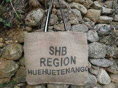 Sac cabas en toile de jute de sac a café // cadeau pour elle // sac de plage // sac de cours // sac de courses // tote bag toile de jute