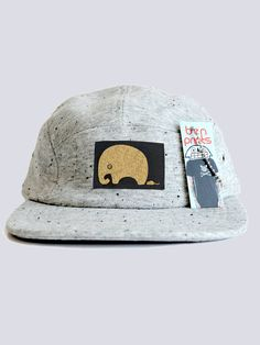 The Baldwin Mr Wide Skull Five Panel Hat Is Here! Screen printed on a black cotton twill patch and sewn in to a five panel hat that features Five Panel Hat, Elephant Hat, Summer Cap, Gold Skull, Skater Style, Cool Hats, Winter Accessories, Mens Caps, Matte Gold