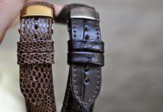 #Lizard #Alligator #handmade #leather #strap #watchstrap #curea #ceas #cureaceas  Business inquiries & orders at:  ~ christianstraps@gmail.com or cureledeceas@gmail.com   ~ Whatsapp: +40 737 472 022   ~~Instagram: christianstraps Men's Jewelry, Handmade Leather, Fossil, Christian, Watches, Business, Accessories, Instagram, Fashion