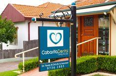 Cabarita Dental Office Sign   Danthonia Designs