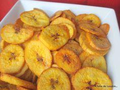 Chips de plátano verde frito: haz tus propios snacks
