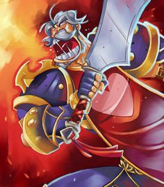 "Leeroy Jenkins represents impulsive behavior. Although not known by a lot of people, he has certainly climbed his way to fame. When planning takes to long, ""LEEROY JENKINS!""."