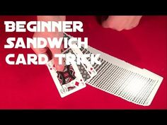 This trick is fairly easy to do but it has a great effect!) Although this is beginners trick, don't forget to train before showing it to your audience ; Card Tricks For Beginners, Easy Card Tricks, Don't Forget, Train, Learning, Cards, Studying, Forget You, Teaching