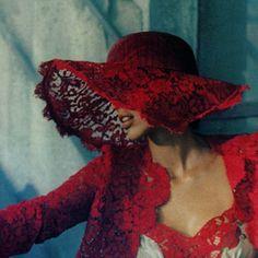 .red lace ✿ڿڰۣ(̆̃̃-- ♥ Donna-NYrockphotogirl  ♥~♥