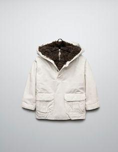 Coat for baby boys   Zara