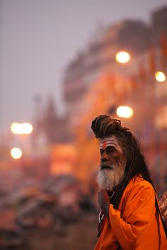 Sadhu in Varanasi (dic 2011)