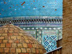 Shah-i-Zinda, Uzbekistan. Visit the source link to view more images.