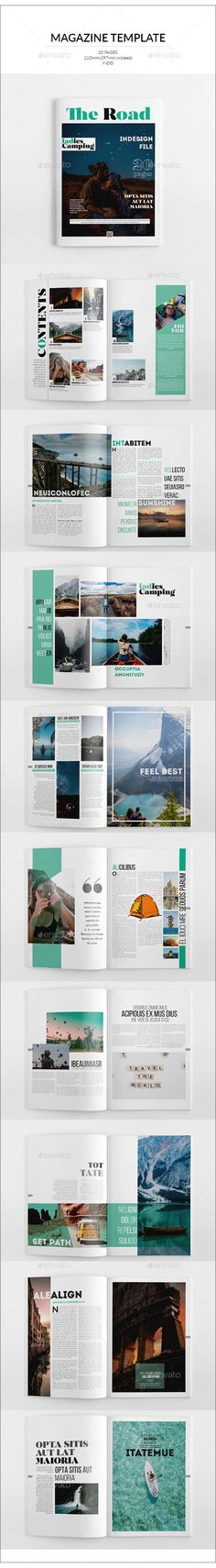 Buy Travel Magazine Template by on GraphicRiver. The Magazine The Magazine. This layout is suitable for any project purpose. Very easy to use and customise. Wonder Woman Logo, Travel Magazines, Magazine Template, Photo Displays, Logo Templates, Layout, Lettering, Free, Purpose