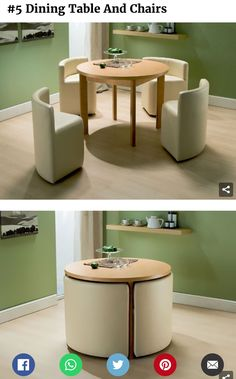 Collapsible Dining-Table/Counter