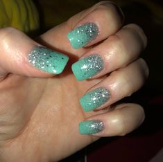Ombre nails done by vip nails and spa in paris tx