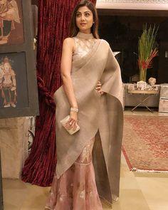 Shilpa Shetty Kundra's Eternal Love For Sarees
