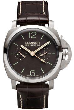 Luminor 1950 Tourbillon GMT Titanio - 47mm PAM00306 - Collection Luminor 1950 - Officine Panerai Watches