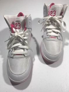 6a0c541432c7 Nike Jordans Girls Shoes High Tops PInk White Size 7 Youth  fashion   clothing  shoes  accessories  kidsclothingshoesaccs  girlsshoes (ebay link)