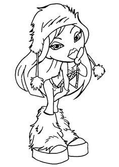 bratz pixie coloring pages | Winx Bloom line art | digi stamp | Pinterest | Colour book ...