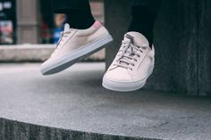 Baskets personnalisables J.C. Lutz #chaussures #baskets #sneakers #personnalisable #jclutz #shoes #customizable Norse Projects, Uniqlo, Lutz, Vans Authentic, Sneakers, Baskets, Shoes, Italian Leather, Smooth Leather