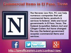 Commercial Items in El Paso, Texas