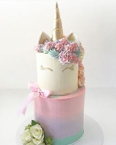 unicorn cake!! More