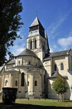 Eglise Abbatiale de Fontevraud ~ Maine-et-Loire, France