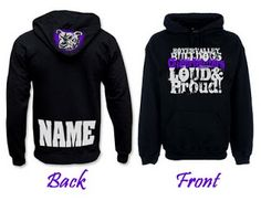 Cheer Coach's Blog: Hoodie Design