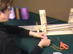 Weaving on the Schacht Inkle Loom  good instructions on threading the loom and then weaving