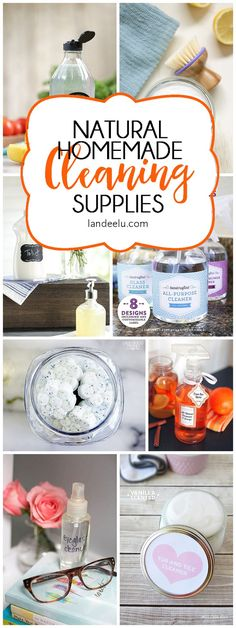 DIY Homemade Cleaning Products