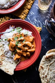 Indian Butter Chicken served on Paprika Fiesta® dinnerware | The Inspired Home, Discover Your Housewares Passion