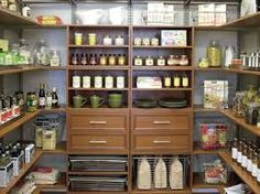 I will die if we have a pantry like this.  After clicking on the image on my google search, I realized it was on a company out of Springield, MO!