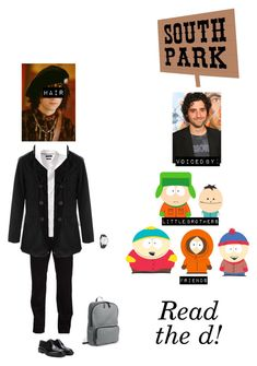 """""""South Park OC: Gavin Broflovski (Read the d!)"""" by kelseystan97 ❤ liked on Polyvore featuring KENNY, Dockers, Banana Republic, Ray-Ban, EyeBuyDirect.com, Lanvin, Bruno Magli, Mulberry, Everlane and men's fashion"""