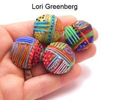 glass patchwork beads by Lori Greenberg. Love them! MonaRAEbeads.com