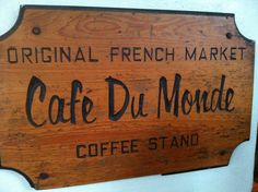 Cafe Du Monde in the French Market District.